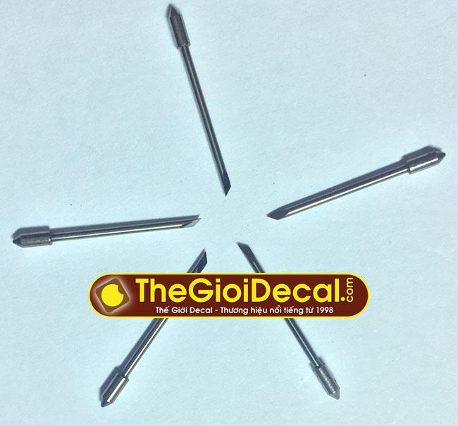 Lưỡi dao máy cắt chữ decal TQ kiểu Graphtec